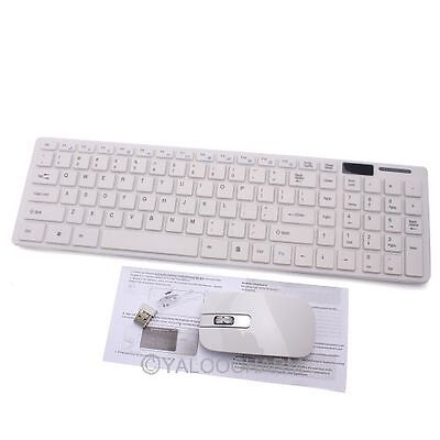 2.4G Mini USB  Wireless Keyboard Souris Clavier Sans Fil + Cover pr PC Portable