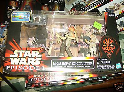 Star Wars Episode 1 Mos Espa Encounter MIB