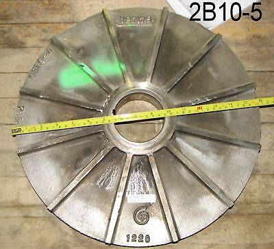 Appears New Goulds Pump Impeller Titanium 16 Inch