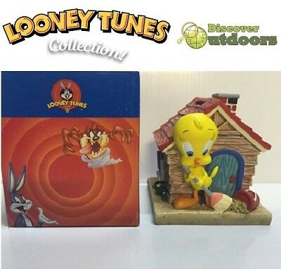 NEW Looney Tunes Collectible TWEETY BIRD Kids Money Coin Box Ornament FIGURINE