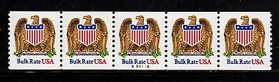 #2602 Eagle & Shield PNC5  Pl #A54445 - MNH