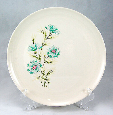 Taylor Smith and Taylor Ever Yours BOUTONNIERE Dinner Plate 10.25 in Blue Flower