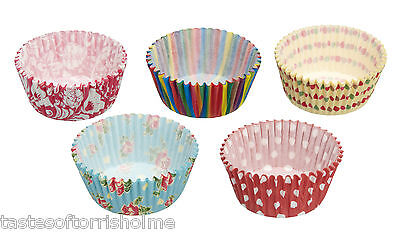 Pack of 250 Assorted Kitchen Craft Fairy Cup Cake Muffin Paper Cases