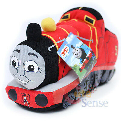 Thomas Tank Engine James Plush Cuddle Pillow Cushion Large Soft Stuffed Toy
