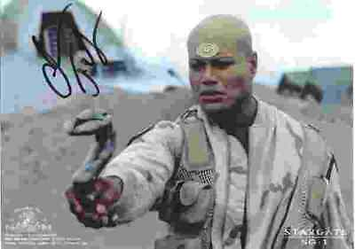 Christopher Judge as Teal'c on Stargate SG-1 Autographed Photo #4