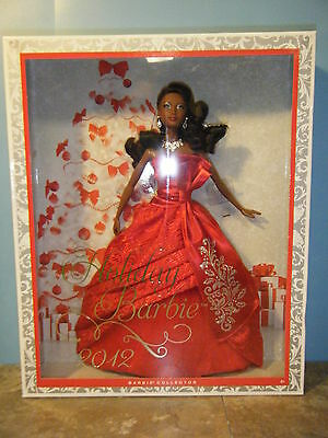 2012 African American Holiday Barbie *new*