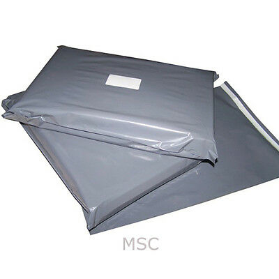 Grey Mailing Postage Poly Plastic Bags Free Same Day Dispatch All Sizes