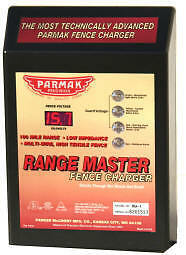 ★PARKER McCRORY PARMAK RM-1 RANGE MASTER FENCE CHARGER ENERGIZER ★100 mile WOW