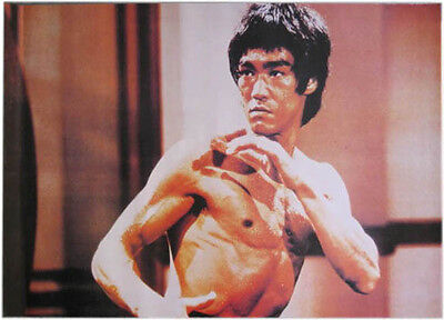 Poster Bruce Lee in Action  NEU Ju-Sports