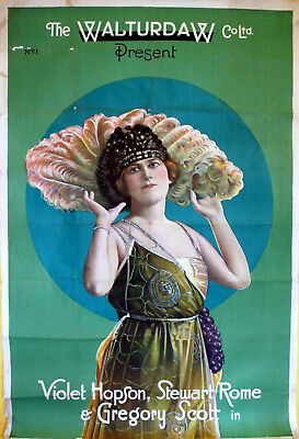 CASE OF LADY CAMBER 1920 Violet Hopson, Stewart Rome UK 40x60 POSTER