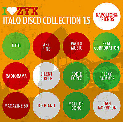 CD ZYX Italo Disco Collection 15 von Various Artists 3CDs