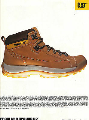 Other Breweriana Publicite Advertising 2003 Caterpillar Chaussures Breweriana, Beer