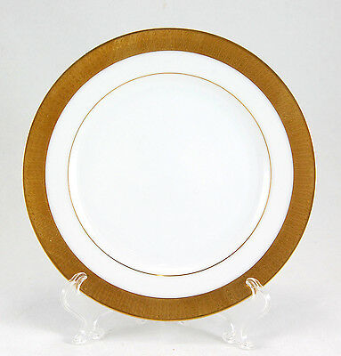 Sango GEORGETOWN 3755 Bread and Butter Plate 6.625 in. Wide Gold Band Trim White
