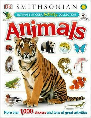 Ultimate Sticker Activity Collection: Animals by DK Publishing Paperback Book (E
