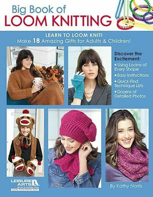 Big Book of Loom Knitting by Kathy Norris Paperback Book (English)