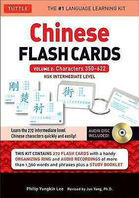 Chinese Flash Cards Kit Volume 2: Hsk Intermediate Level: Characters 350-622 (Au