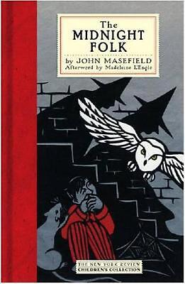 The Midnight Folk by John Masefield (English) Hardcover Book Free Shipping!