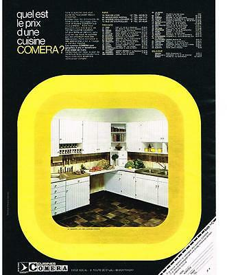 Publicite Advertising 1965 Cuisine De Campagne Comera Meuble Eur