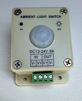 Ambient Light Photocell Dusk To Dawn Control 12 – 24 Volt Dc Led Lighting  Als1