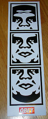 """SHEPARD FAIREY Obey Giant CLASSIC ANDRE STRIP Sticker 2.5 X 8.5"""" art from poster"""