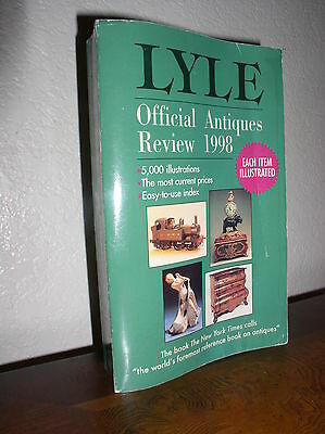 Lyle's Official Antiques Review, 1998 by Anthony Curtis (1997, Paperback, Revise