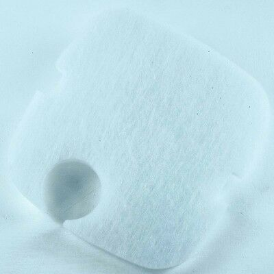 Jebao 203U & 204U External Aquarium Fish Filter Fine White Poly Pad Foam