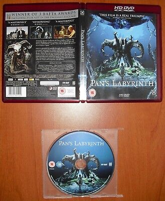 El Laberinto del Fauno HD-DVD 1080p (NO Blu-Ray, NO DVD) Ver. UK ¡EN CASTELLANO!