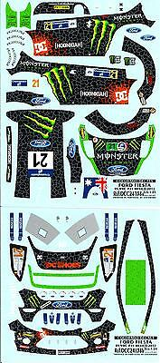 #5 COLORADO  24153 DECALS 1//24 FORD FIESTA RS WRC HIRVONEN  PORTUGAL 2014