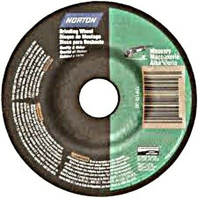 "Norton 43607 4-1//2/"" X 1//4/"" X7//8/"" 30° Metal Grinding Wheel"