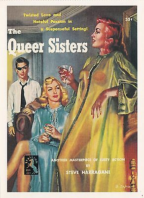 (16747) Postcard - The Queer Sisters.