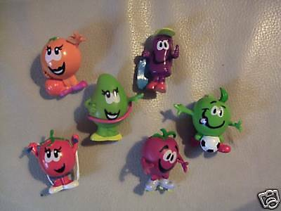 New 18 Munch Bunch Funky Fruit Pencil Toppers