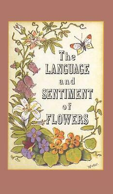The Language and Sentiment of Flowers by James McCabe (English) Hardcover Book