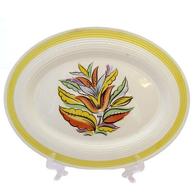 Leigh Ware Hollywood Oval Platter Vintage Rare 1