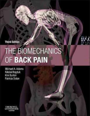 The Biomechanics of Back Pain by Michael A. Adams (English) Hardcover Book Free
