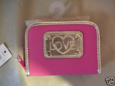 New NOBO Pink & Silver LOVE Purse