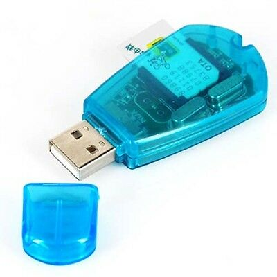 TRIXES USB SIM Card Reader Writer Copy Edit Cloner GSM Backup CDMA Portable
