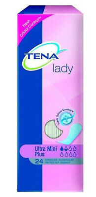 Tena Lady Odour Control Pads Ultra Mini Plus 24