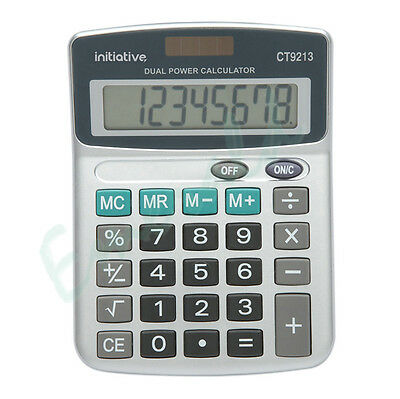 Calculator Fixed Angle Display Large Keys - 8 Digit Semi Desktop