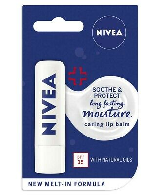 Nivea Lip Care Soothe and Protect (4.8g)