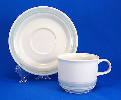 Japan China Country Glen Collection BIRCHGLEN Flat Cup and Saucer Set 2.75 in.
