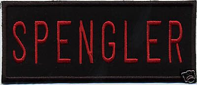 Iron-On  Ghostbusters 2 Style  Embroidered Name Tag Patch - SPENGLER