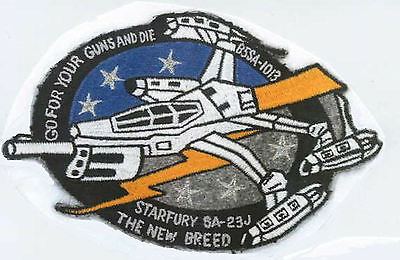 Babylon 5: Star Fury - The New Breed Embroidered Patch