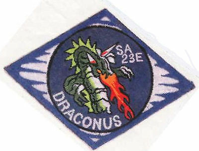 Babylon 5 Embroidered Draconus Squadron Iron-On Patch