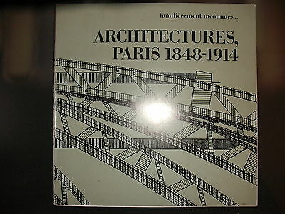 Architectures, Paris 1848-1914