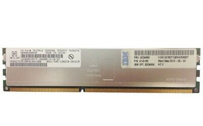IBM 16GB (1x16GB) 2x4 PC3-10600R Reg ECC CAS-9 Server Memory 47J0182 00D4966