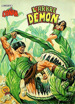 Conan (Artima Color Marvel Geant) L'arbre Demon Aredit 1983 Tbe