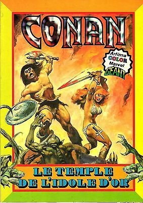 Conan (Artima Color Marvel Geant) Le Temple De L'idole D'or Aredit 1980 Tbe