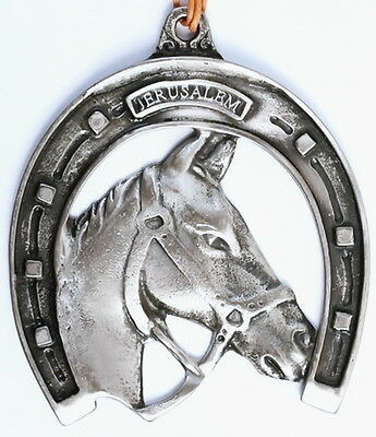 The Lucky Horse Shoe Home/Wall Decor, Stallion Figurine, Good Luck Amulet Charm