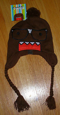 DOMO OFFICIAL Nerd Face peruvian laplander knitted hat cap beanie costume anime