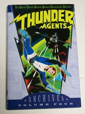 DC THUNDER AGENTS Archives Volume 4 Hardcover HC T.H.U.N.D.E.R.